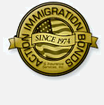 Action Immigration Bond Seal of Service